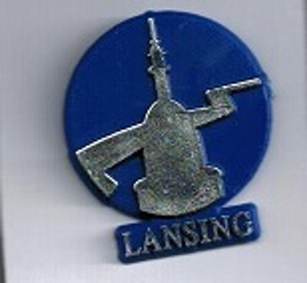 Lansing Vintage Lapel Pin
