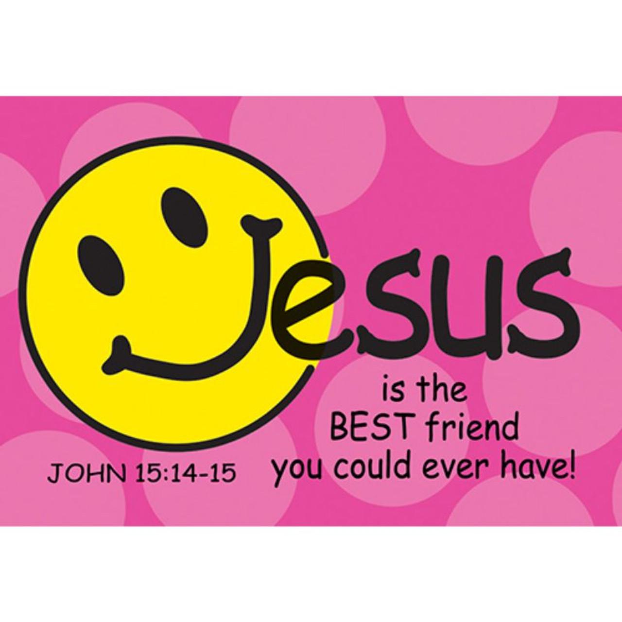 Jesus is the Best Friend Message Card