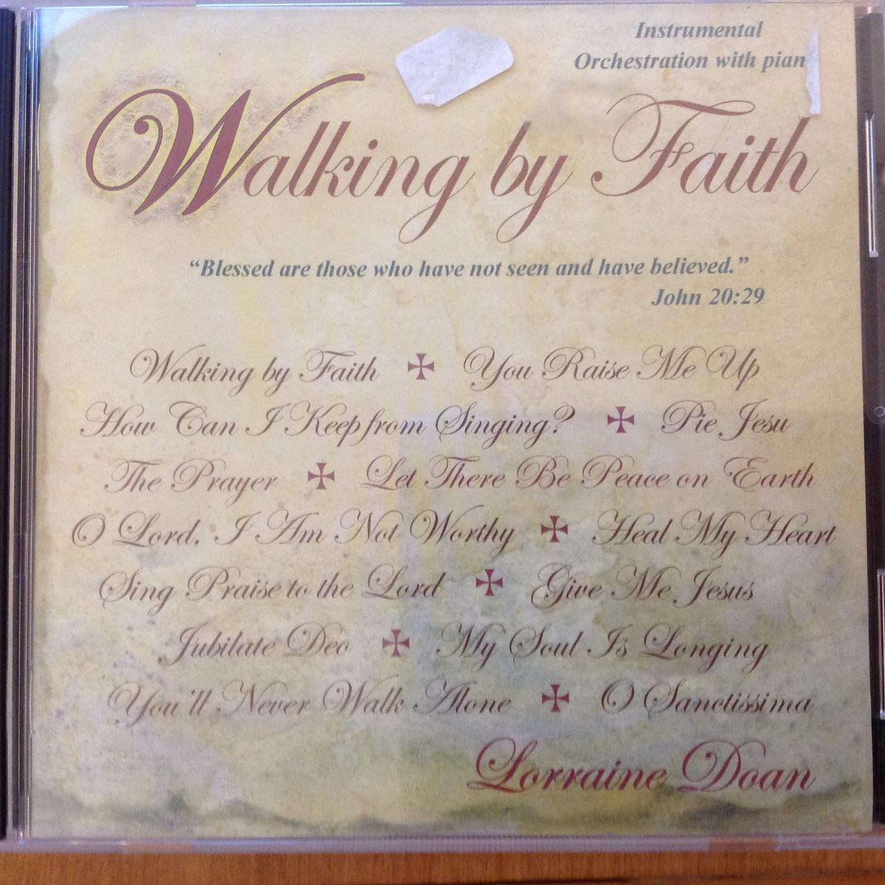 Walking by Faith CD