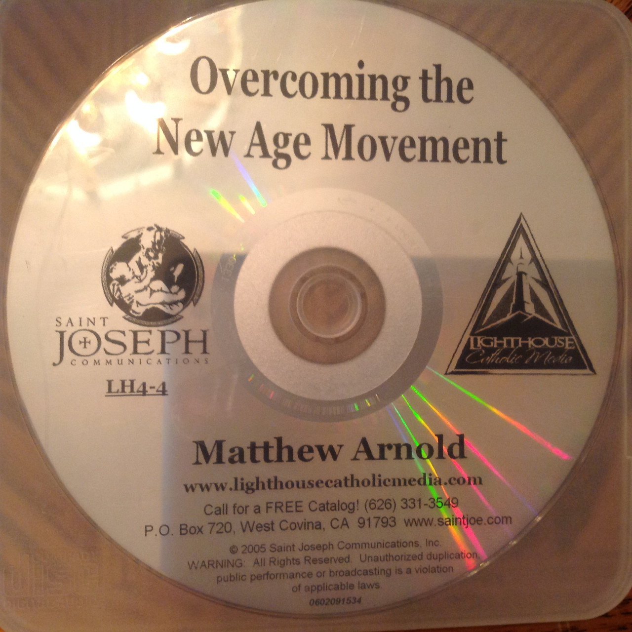 Overcoming the New Age Movement by Matthew Arnold CD