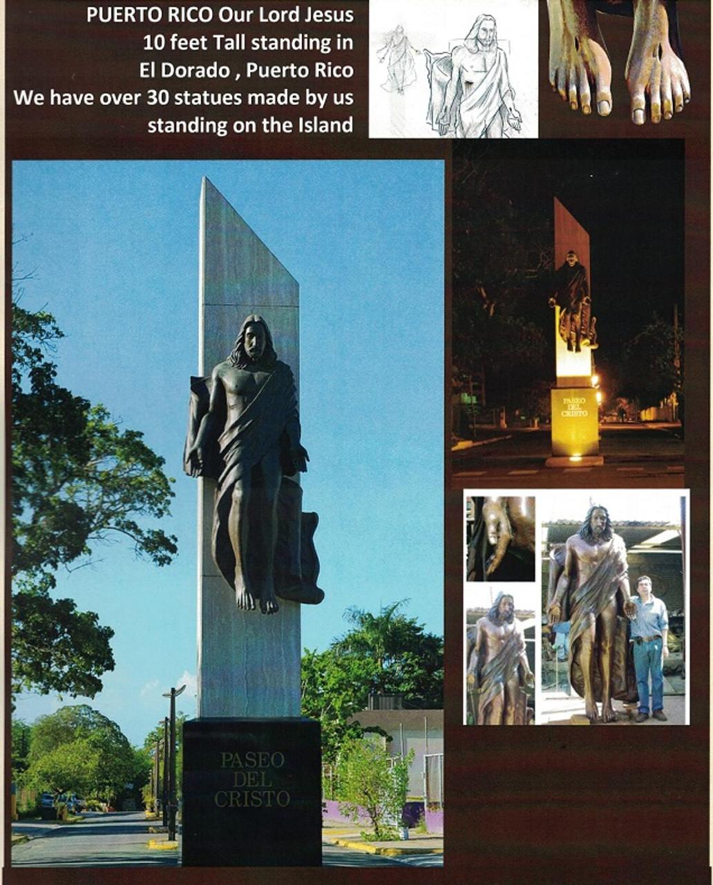 Custom Bronze Statuary Christ Images