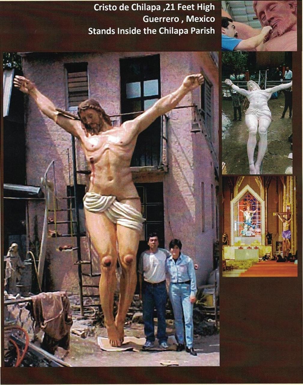Custom Bronze Statuary Crucifixion of Jesus Image