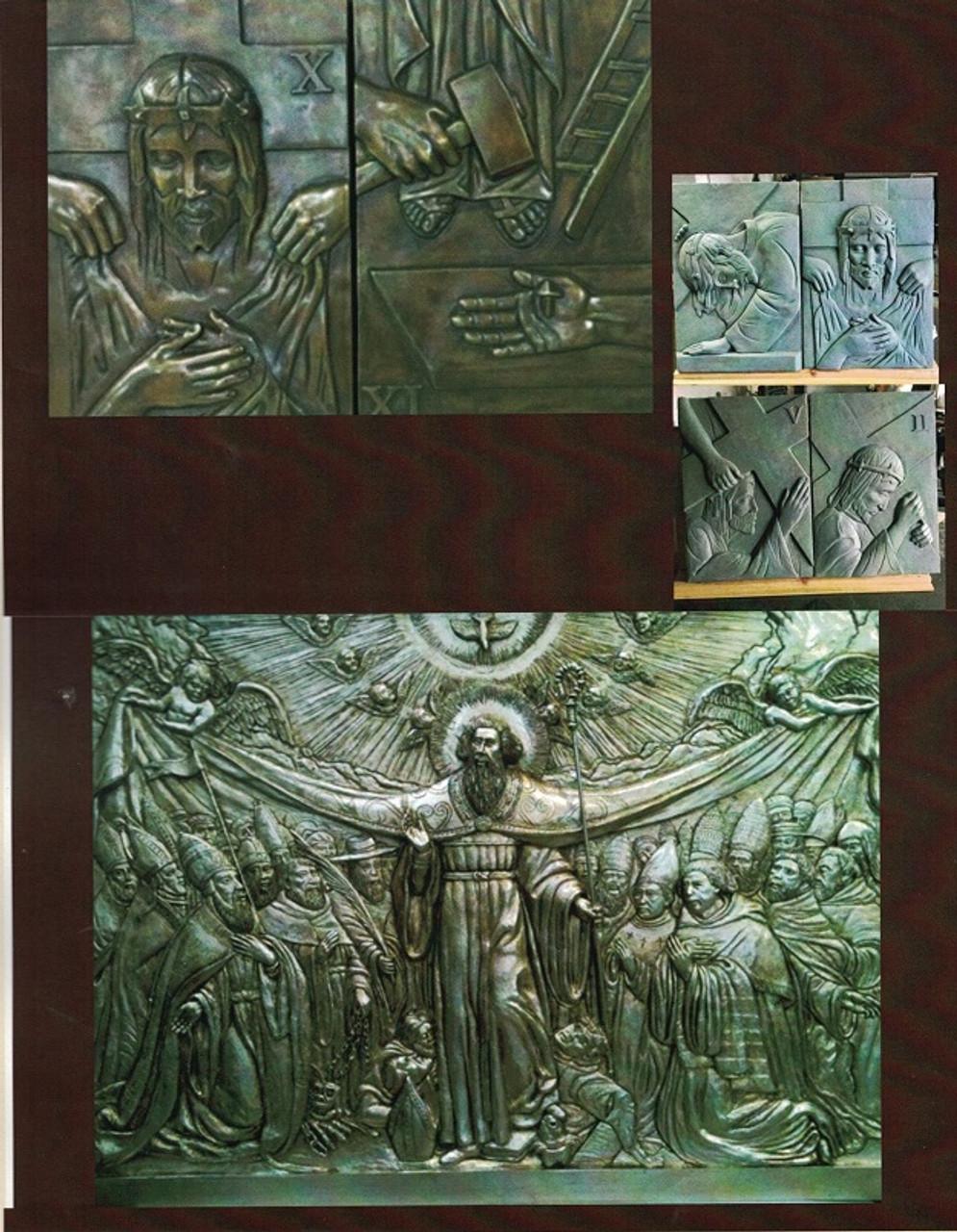Custom Bronze Statuary Miracles of Jesus