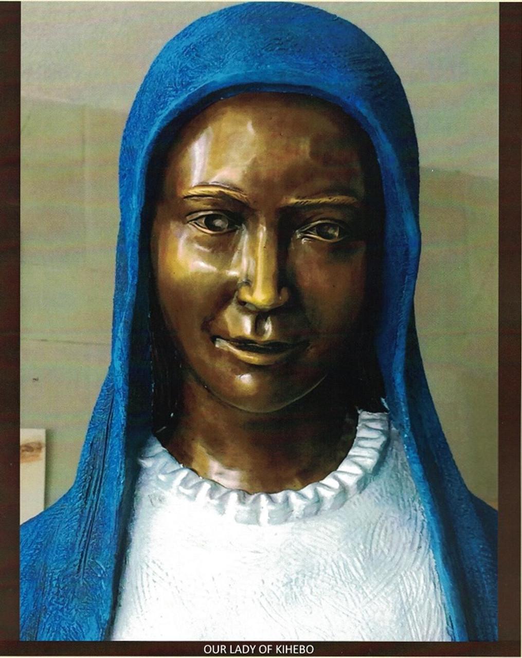 Custom Bronze Statuary Our Lady of Kibeho