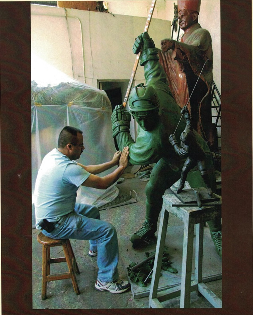 Custom Bronze Statuary Crafting Centurion Image
