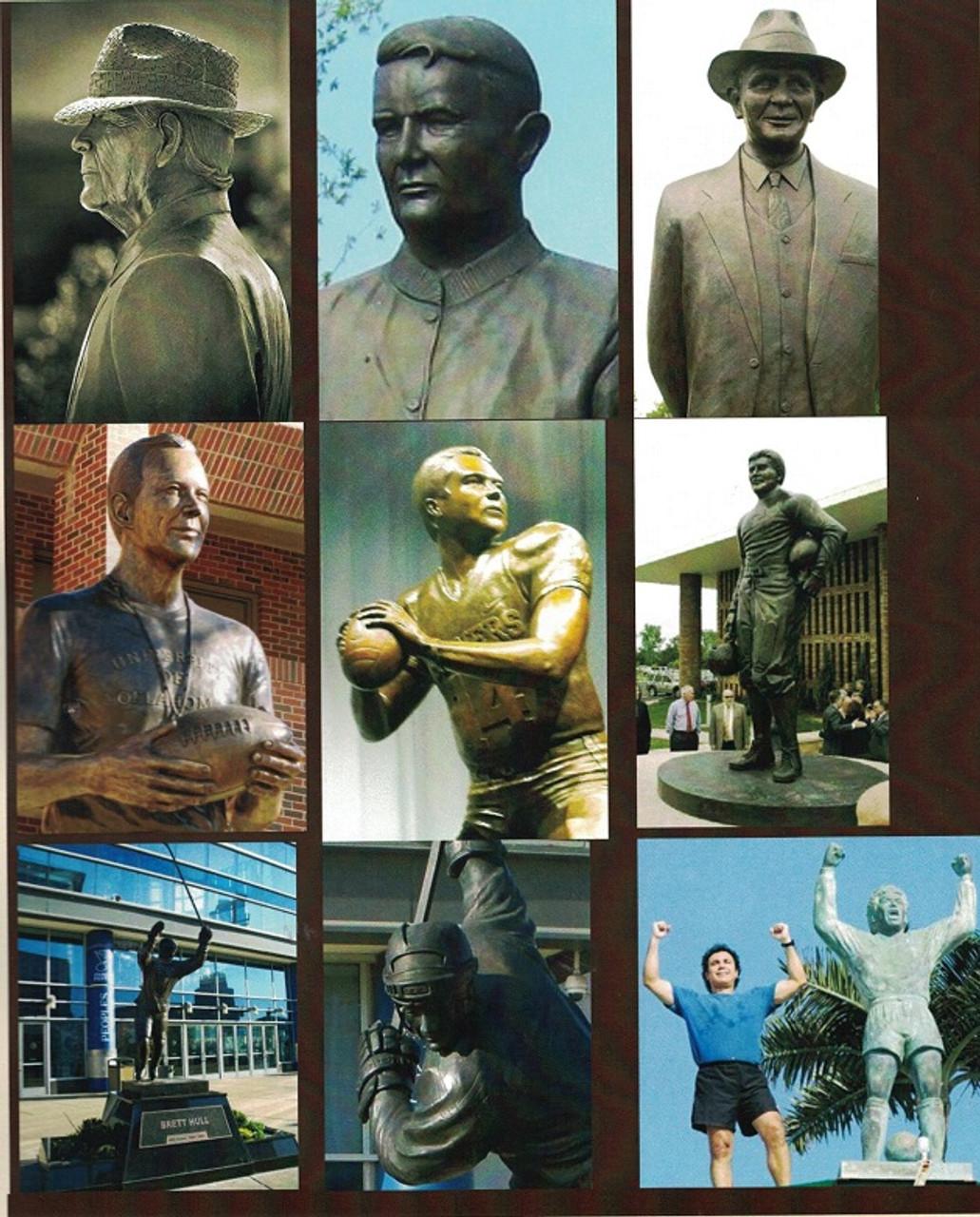 Custom Bronze Statuary life like human images