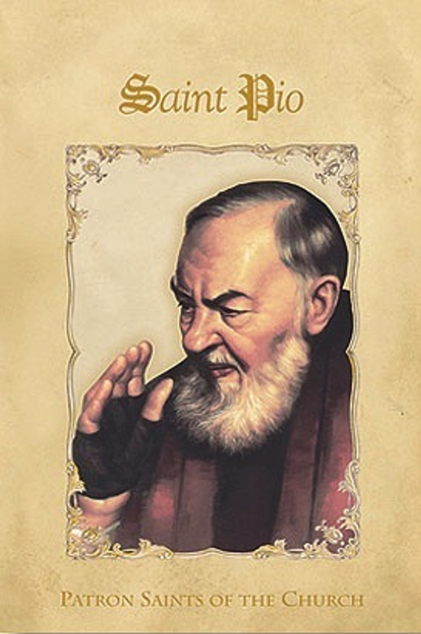 Saint Padre Pio Booklet with Prayers and Novena