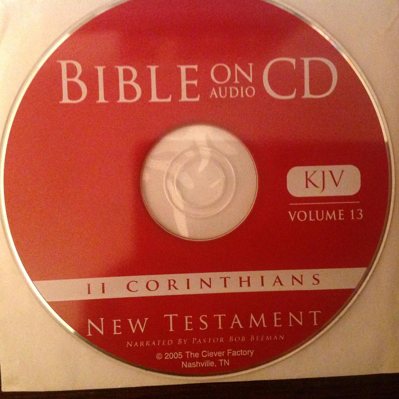Bible on Audio CD, Vol. 13, II Corinthians CD