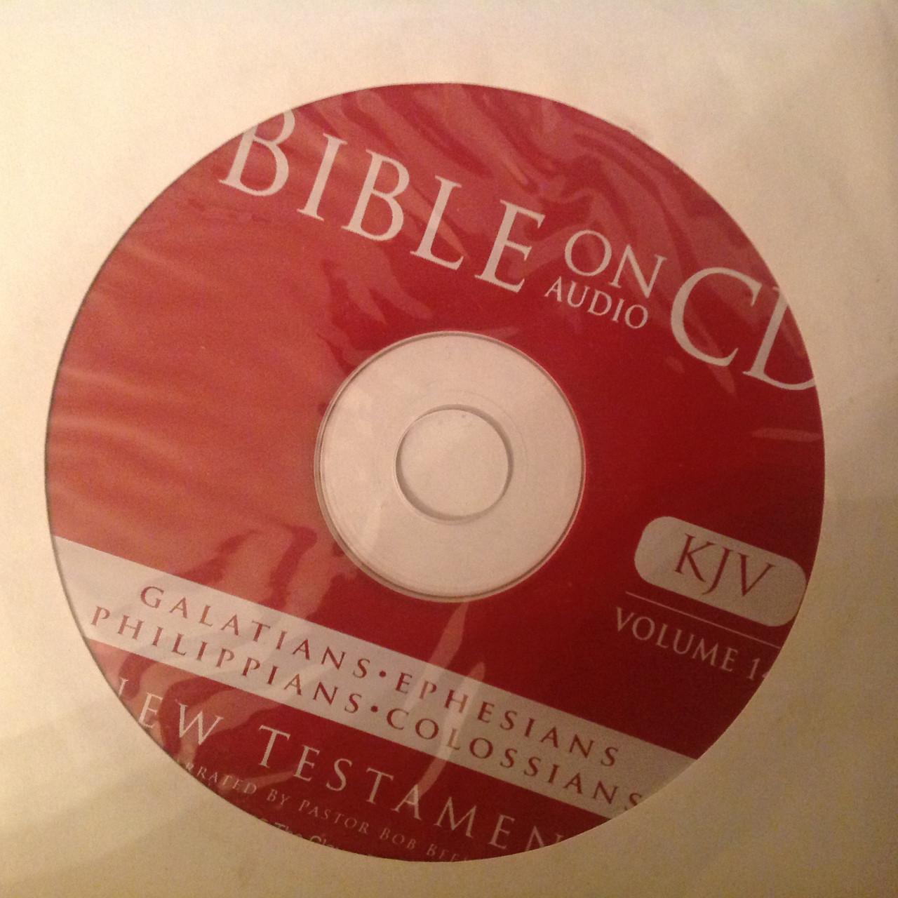Bible on Audio CD, Vol. 14, Galatians, Ephesians, Philippians, Colossians CD