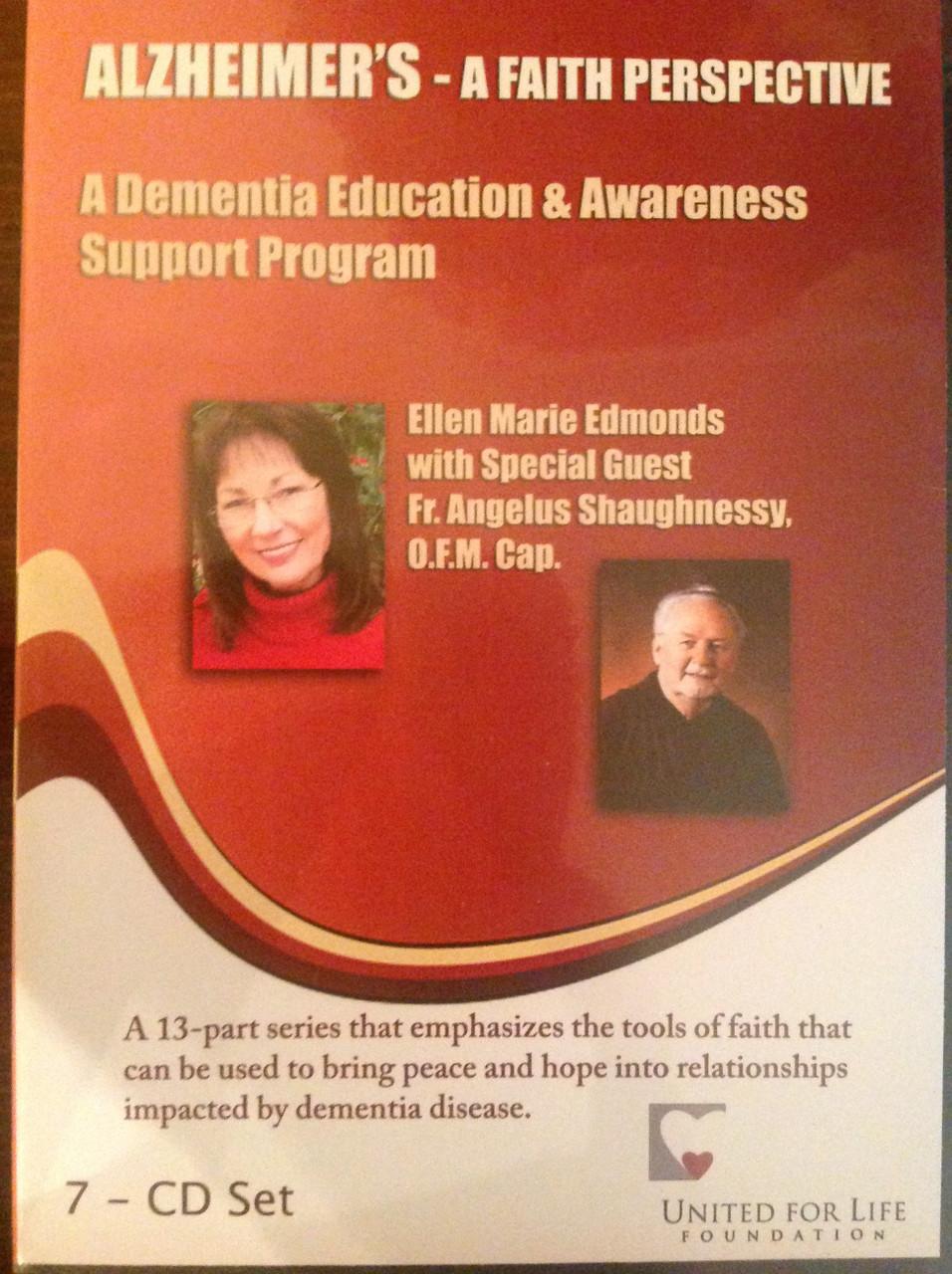 Alzheimer's - A Faith Perspective CD