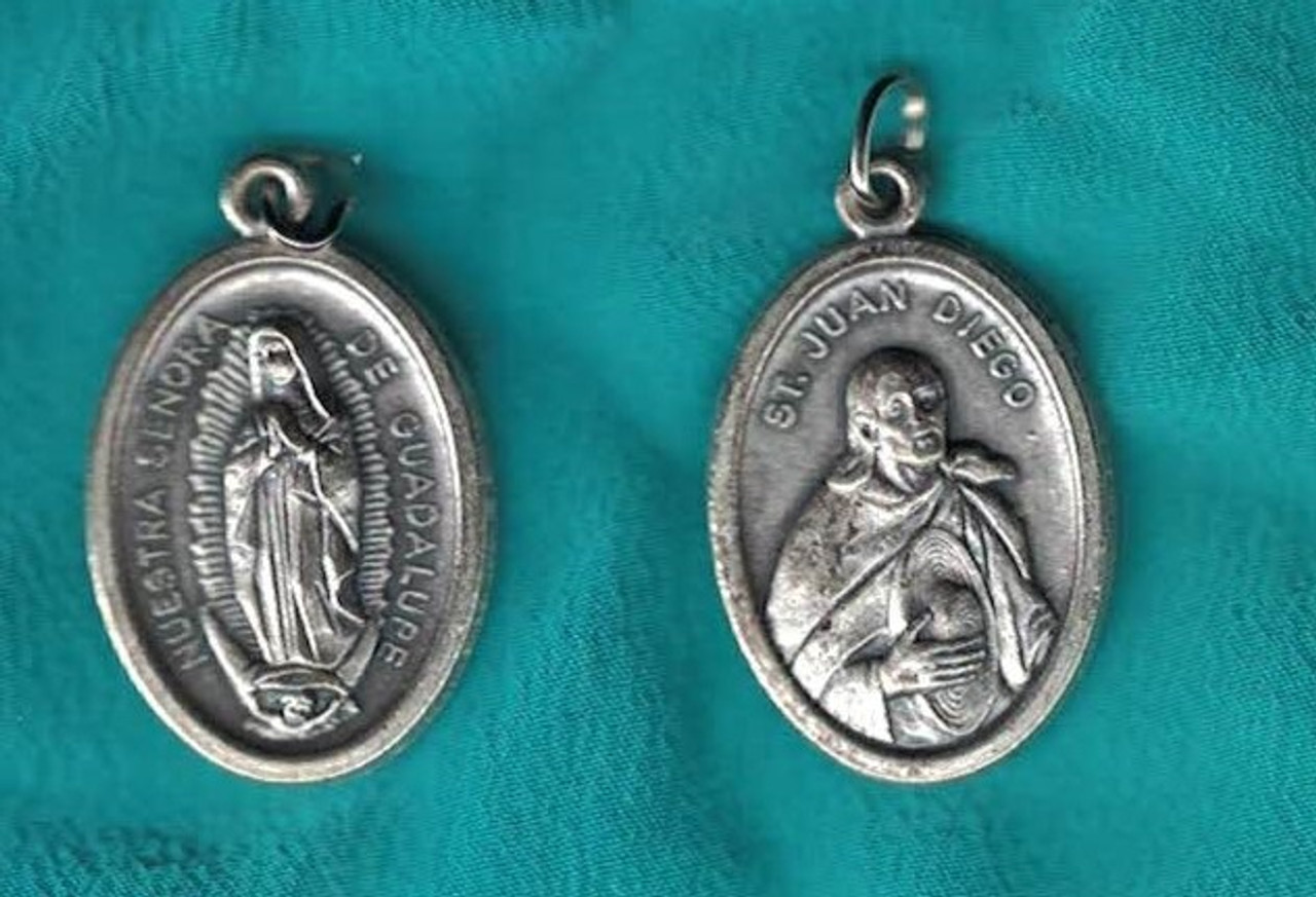 Our Lady of Guadalupe and Saint Juan Diego Medal