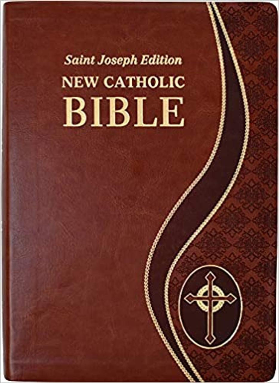 Giant Print Catholic Bible