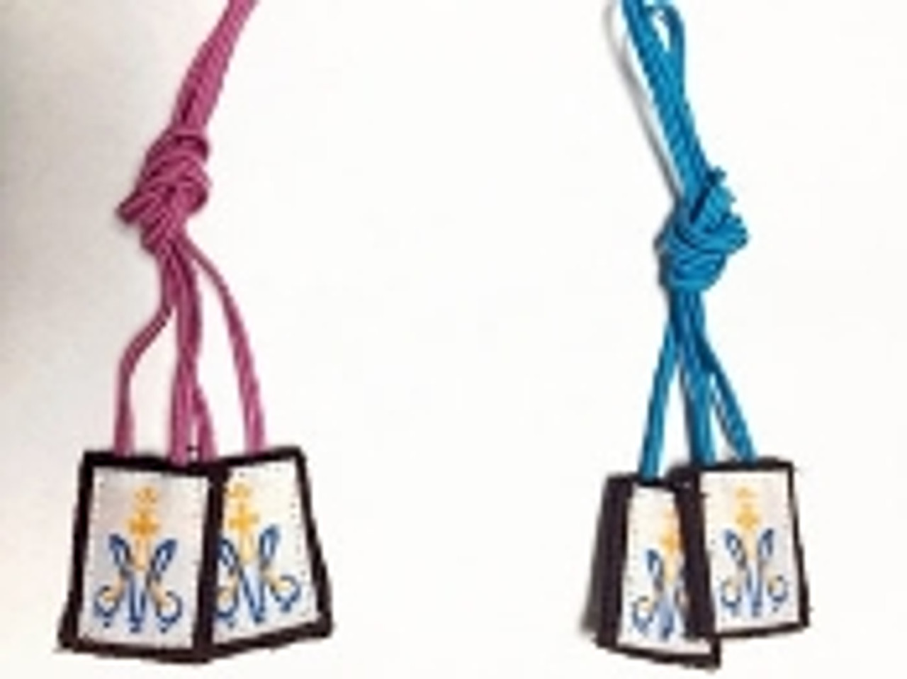 Children's Pink cord or blue cord scapular