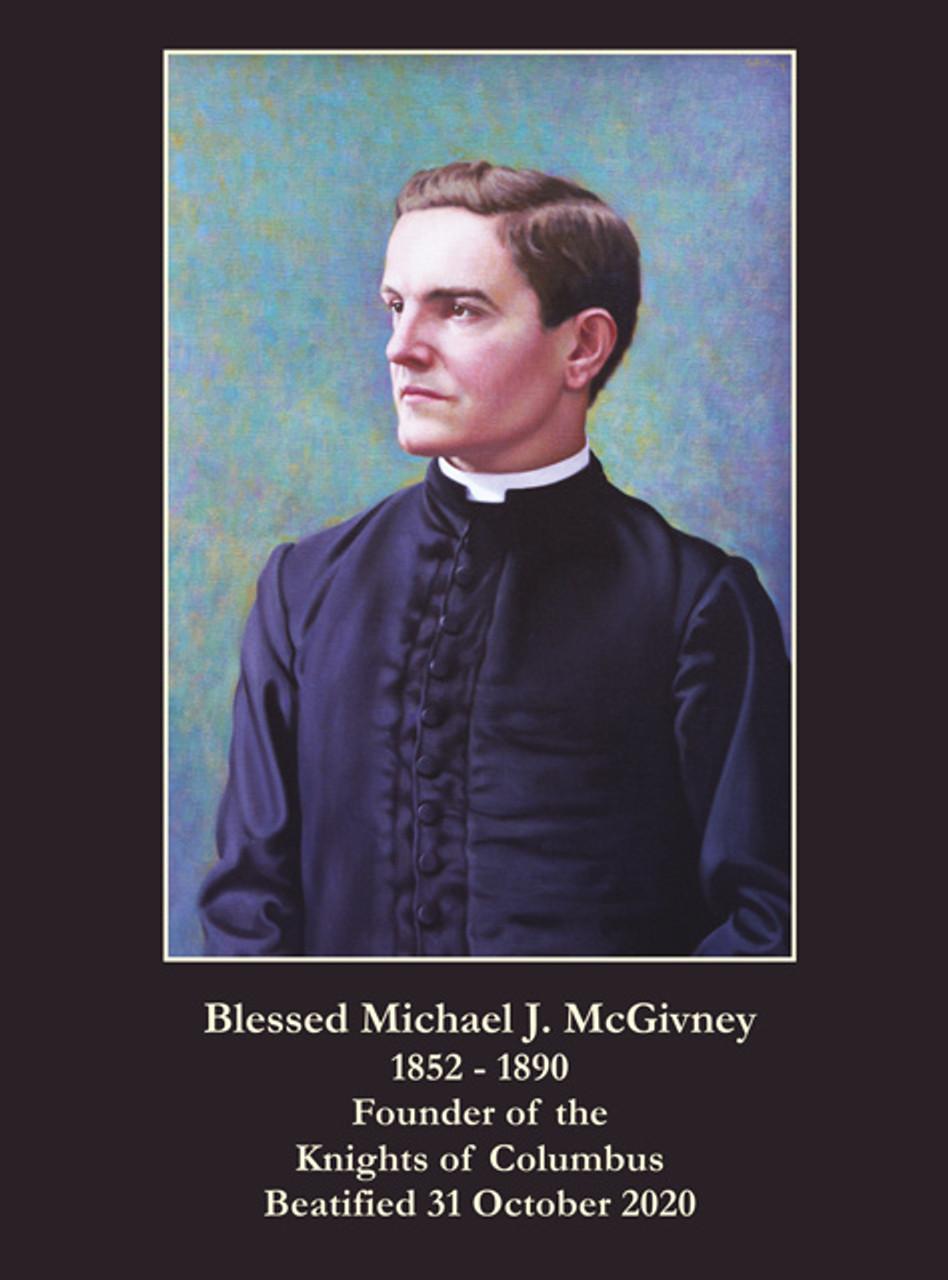 Blessed Michael McGivney Prayer Card