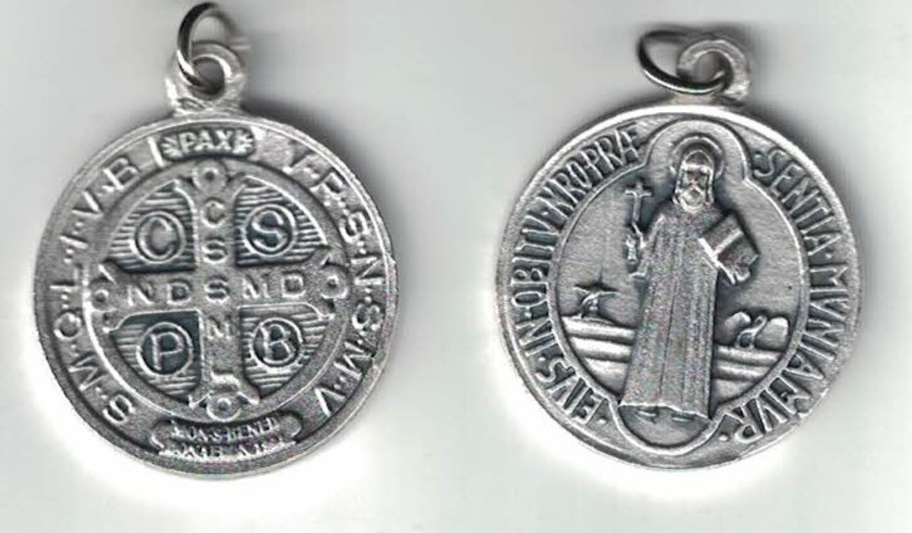 One Inch Saint Benedict Medal