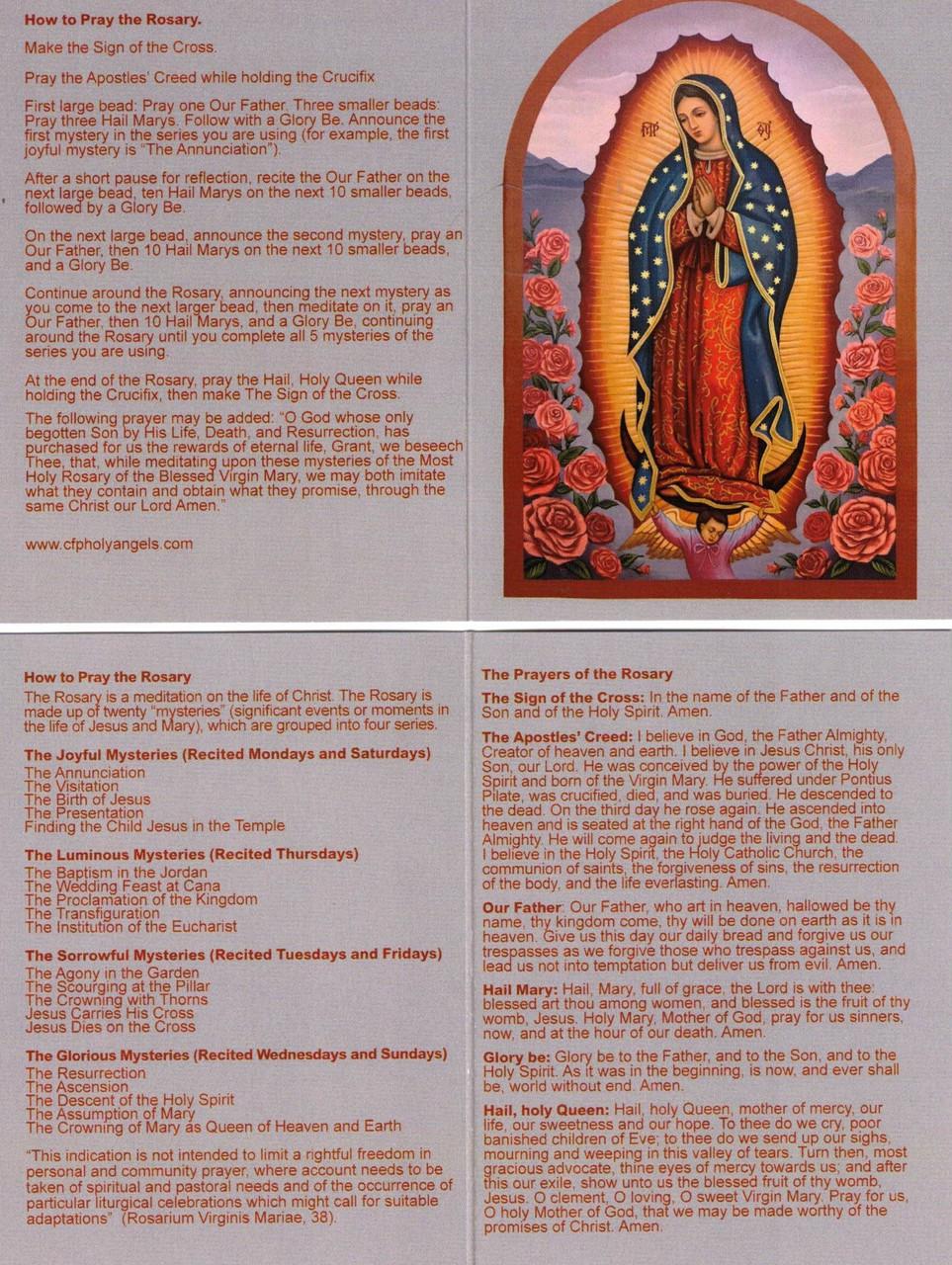 How to Pray the Rosary--English