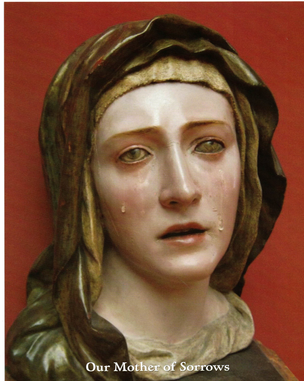 Our Lady (Mother) of Sorrows by Pedro Roldan