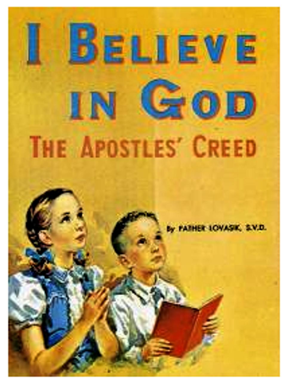 I Believe in God Children's Book