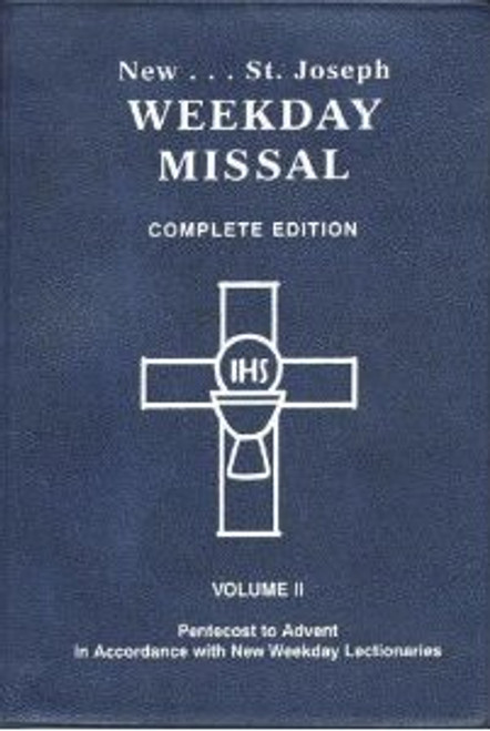 St. Joseph Complete Weekday Missal Vol 1 (Advent to Pentecost)