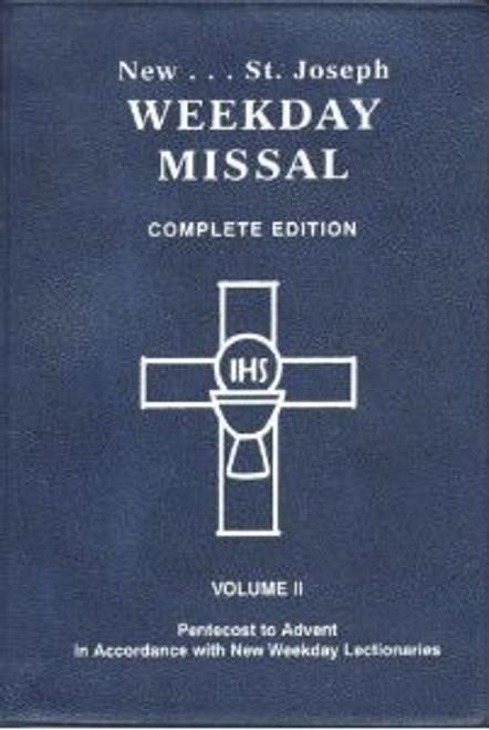 St. Joseph Complete Weekday Missal Vol 1 (Advent to Pentecost)