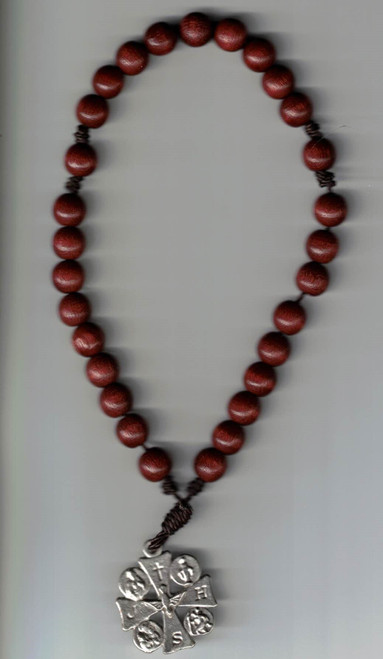 Chaplet of Saint Francis plus Instruction Book