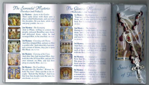 St. Francis Rosary and How to Pray Rosary Booklet