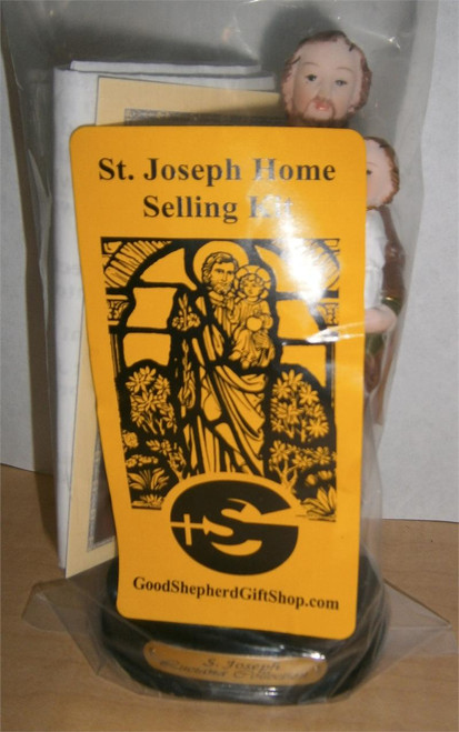 Saint Joseph Home Selling Kit with prayer and instructions--free shipping