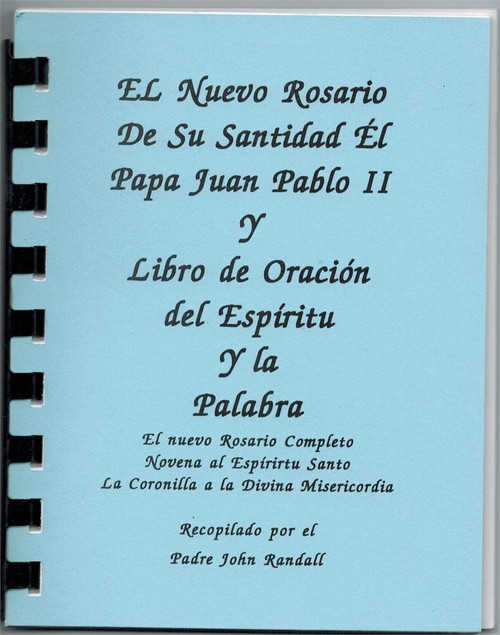 The New Pope John Paul II Rosary and The Spirit and the Word Prayer Book
