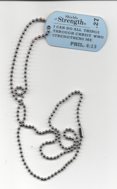 Military Religious Dog Tags--Back