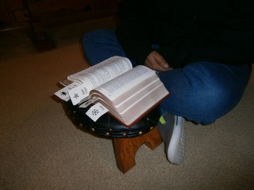 Hand Crafted Prayer Stools