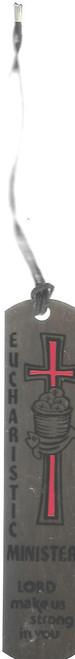 Eucharistic Minister Metal Bookmark