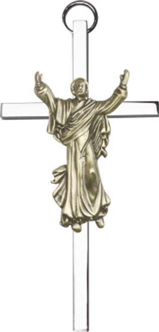 Bliss Contemporary Risen Christ Cross