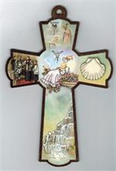 "Baptism Cross - 6"""