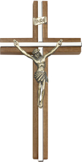 Bliss Walnut Traditional Cross
