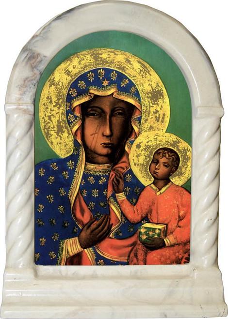 Our Lady of Czestachowa Desk Shrine