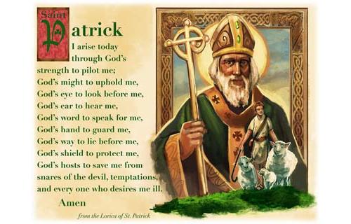 Saint Patrick Prayer Pillowcase