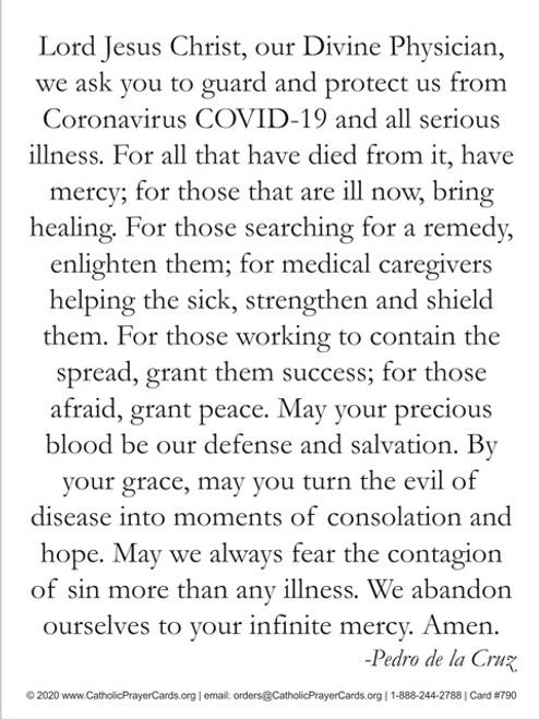 Prayer against Coronavirus
