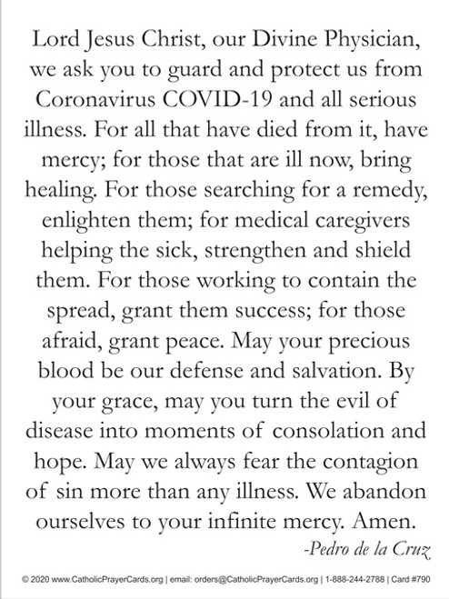 Prayer against Coronavirus