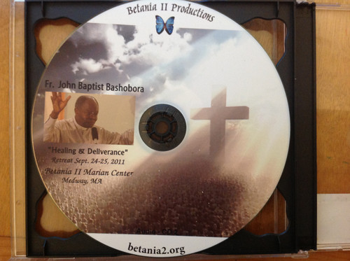 Healing and Deliverance Retreat CD