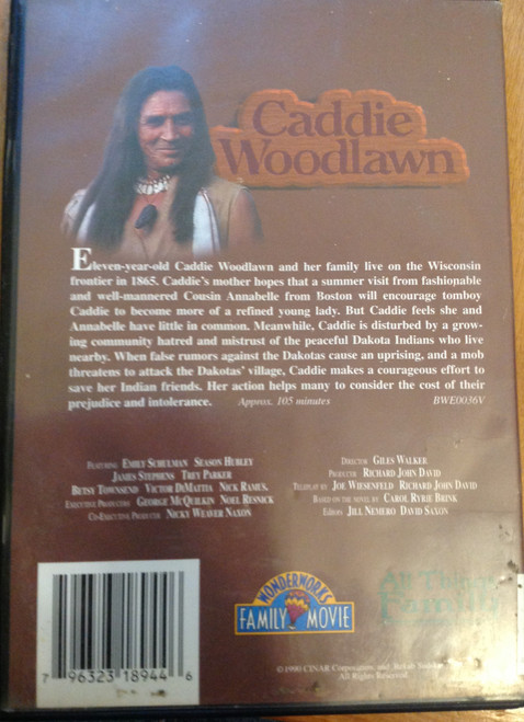 Caddie Woodlawn DVD