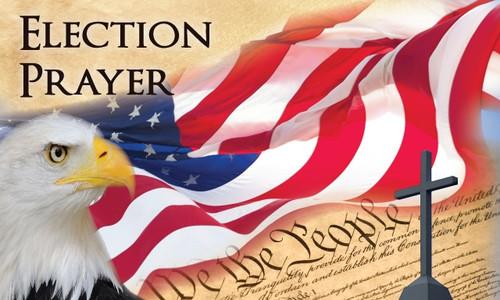 Election Prayer Card