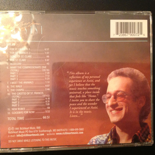 Light From Assisi by Richard Shulman CD