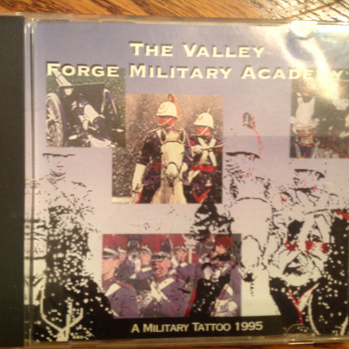 A Military Tattoo 1995 by The Valley Forge Military Academy CD