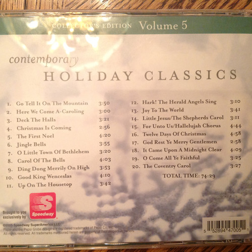 Contemporary Holiday Classics, Collector's Edition Volume 5 CD