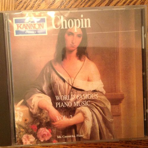 Chopin, World Famous Piano Music, Vol. 2 CD