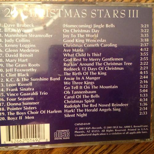 20 Christmas Stars III CD