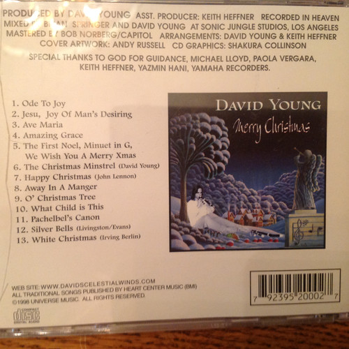 Merry Christmas by David Young CD