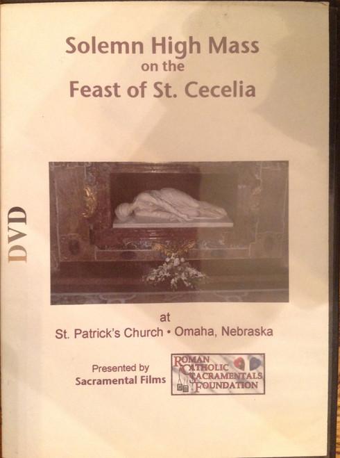 Solem High Mass on the Feast of St. Cecelia DVD