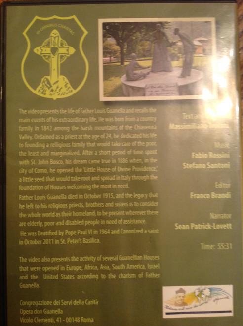 Father Guanella DVD