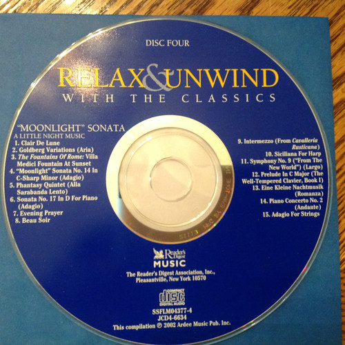 Relax & Unwind with the Classics CD